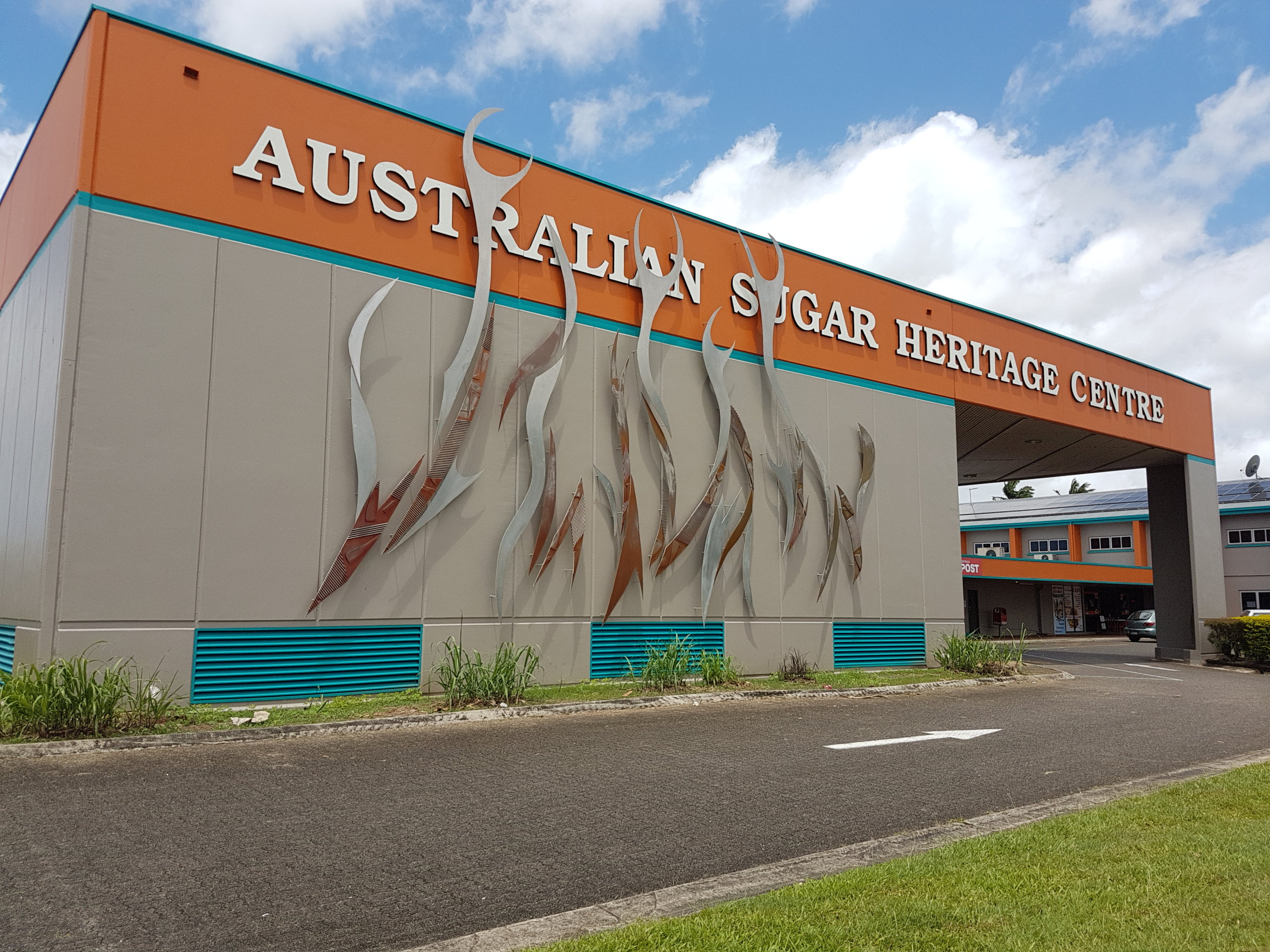 An outside view of the Australian Sugar Heritage Centre